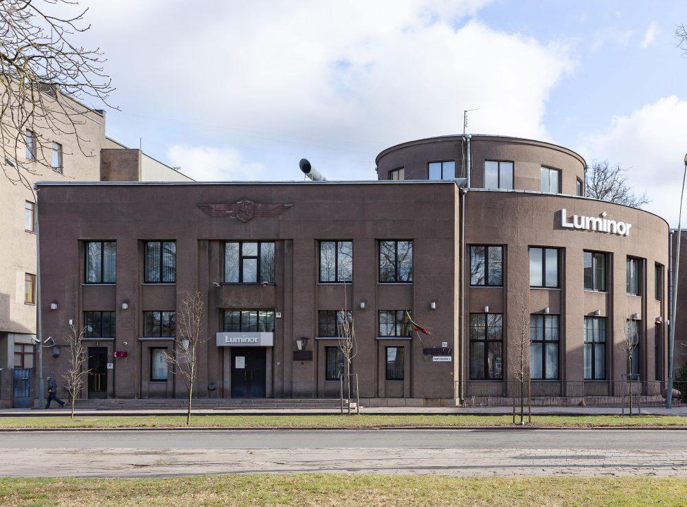 Luminor Bank AS Lietuvos skyrius, Panevėžio klientų konsultavimo centras / buv. Lietuvos bankas